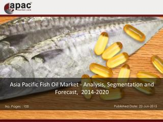 Fish Oil Market in AsiaPacific Will $1.5 Billion by 2020