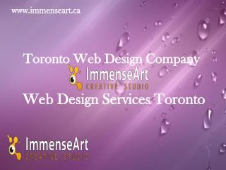 Web design Toronto web design services Toronto