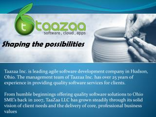 Taazaa: Software Development & Web Designing Company