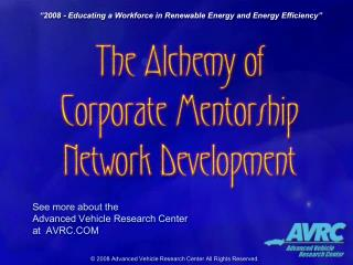 2008 - Educating a Workforce in Renewable Energy and Energy Efficiency