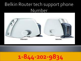 1-844-202-9834 Belkin Router Tech Support Number