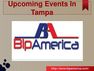 Upcoming Events In Tampa