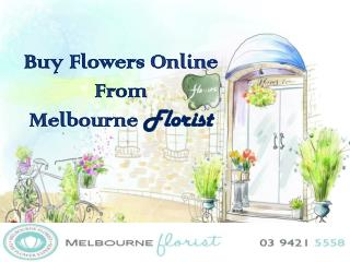Buy Flowers Online From Melbourne Florist