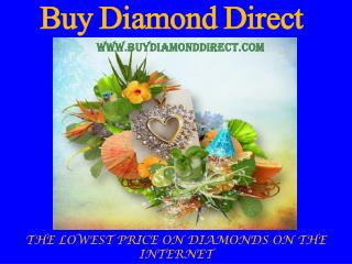 Luxurious Diamond Jewelry at lowest price-Buy Diamond Direct