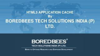 HTML5 Application Cache by Boredbees