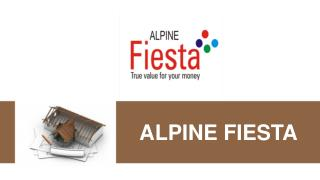 Alpine Fiesta by Alpine Housing