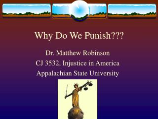 Why Do We Punish