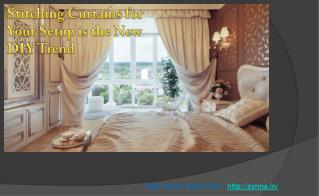 Curtains stitching in delhi | Curtains stitching in india