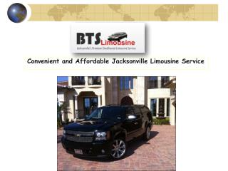 Convenient and Affordable Jacksonville Limousine Service