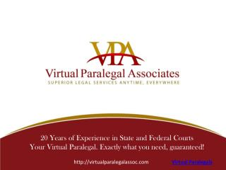 Virtual Paralegals Services