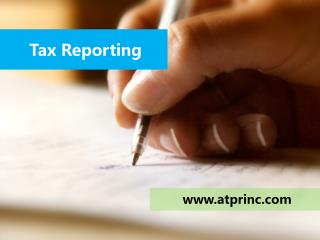 Tax Reporting Services for You Business by ATPR