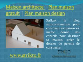 Construire sa maison soi meme | plan maison 3D