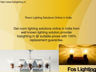 Room lighting solutions online in india