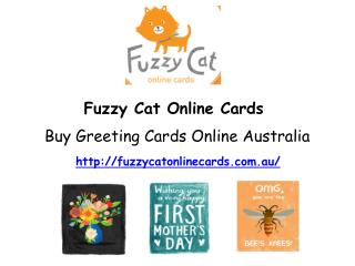 Buy Greeting Cards Online Australia