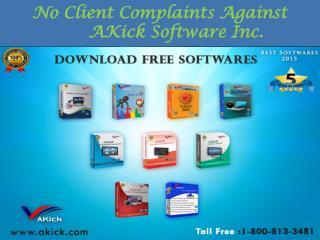 AKick Software - No Client Complaint