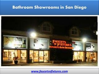 Bathroom Showrooms in San Diego - Faucets N' Fixtures