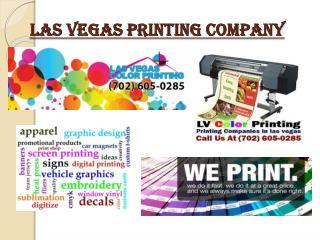 Las Vegas Printing Company