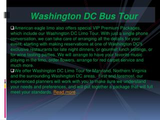 Washington DC  Bus Tour