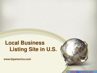 Local Business Listing Site In US