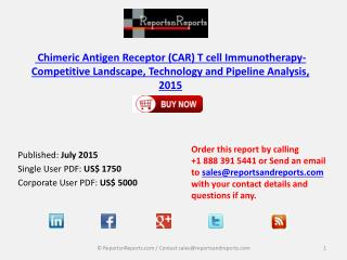 2015 Chimeric Antigen Receptor (CAR) T cell Immunotherapy- C