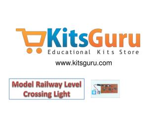 Model Railway Level Crossing Light Projects