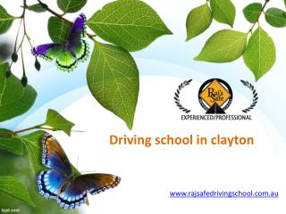 Raj Safe Driving School | best driving school melbourne
