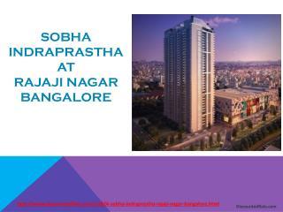 4 BHK Duplex flats @ Sobha Indraprastha - Discountedflats.co