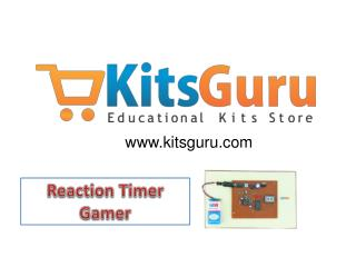 Reaction Timer Gamer Projects