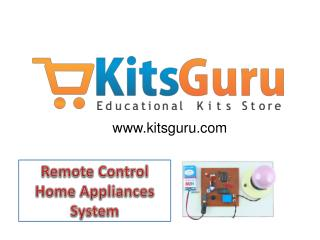 Remote Control Home Appliances System Projects