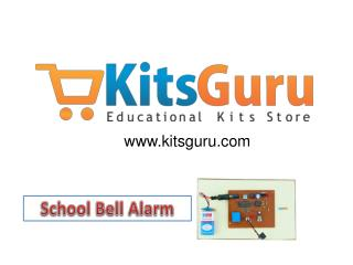 School Bell Alarm Projects
