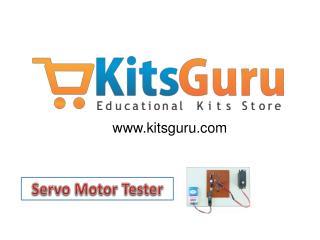 Servo Motor Tester Projects