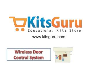 Wireless Door Control System Projects