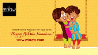 Celebrate Rakhsha Bandhan and Send Rakhi Gift Online