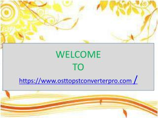 convert ost file to pst file