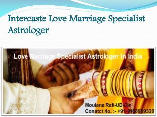 Intercaste Love Marriage Specialist Astrologer