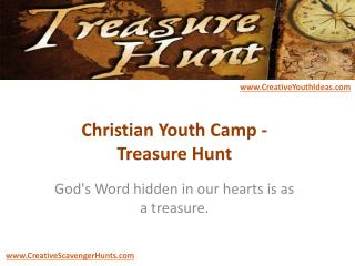 Christian Youth Camp - Treasure Hunt