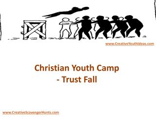 Christian Youth Camp - Trust Fall