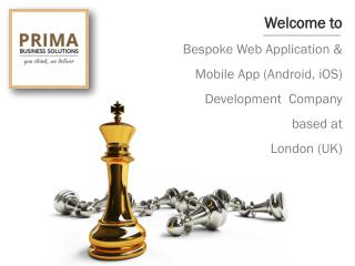 Bespoke Web Application & Mobile App Development  Company