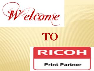 Buy Ricoh Printer Products Online