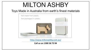 Unique Wooden Toys for Babies – Milton Ashby