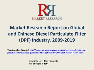 Diesel Particulate Filter Market (DPF) Global and Chinese An