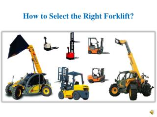 Tips to Keep in mind before purchasing a Second Hand Forklif