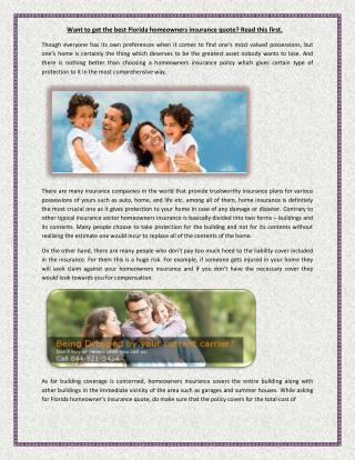 home insurance companies florida
