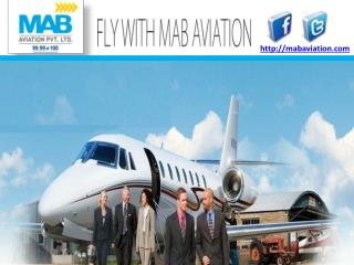 Air Charter Services In India