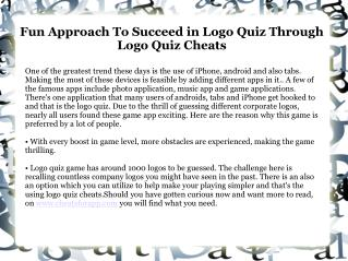 Logo Game Answers