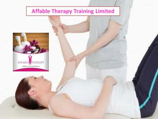 Sports Massage Courses in London at Affable Therapy