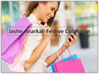 Latest designs of Jashn Anarkali dress