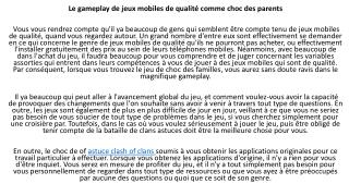 astuces clash of clans