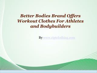 Better Bodies Brand: A Good Brand