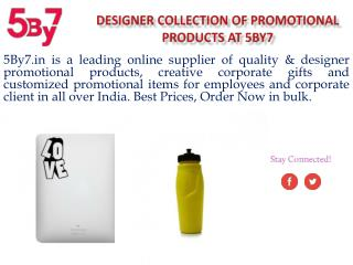 Promotional Products for Employees at 5by7